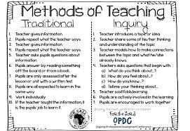 How Do Teaching Methods Differ?