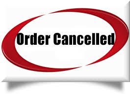 A Letter Cancelling an Order