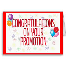 Congratulating Letter on Promotion