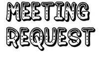 Regret Letter for Delayed Response and Request for Meeting