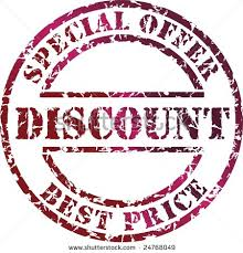 Letter for Declaration of Special Discount Offer