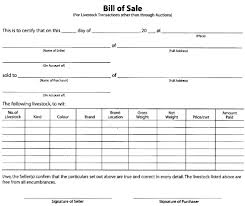 Letter for Bill of Sale with Assurance of Identify