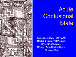 Identify The Aetiology of Acute Confusional State