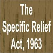 Injunction of Specific Relief Act