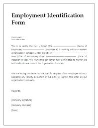 Job Candidate Employment Verification Form