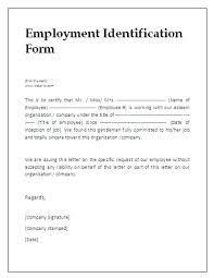 Job Candidate Employment Verification Form