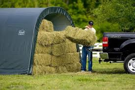 Article on Portable Shelters Used as Hay Barns