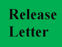 Notice Letter for Release from Office