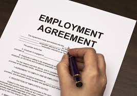 Employment Agreement Letter Format
