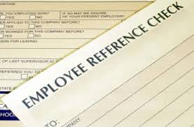 Request Letter for Employment Reference
