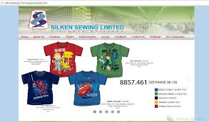 Merchandising and Marketing activities of Silken Sewing Ltd