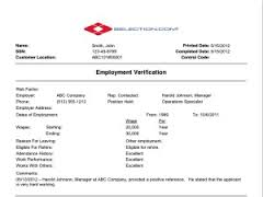 Letter for Verification of Employment to Previous Authority