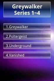 Greywalker Series