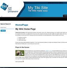 TikiWiki Overview