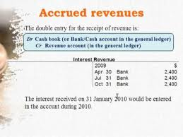 Discuss on Accrued Revenues