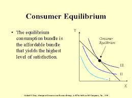 Define and Discuss on Consumer Equilibrium