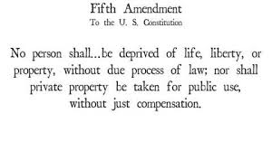 Discuss on Fifth Amendment