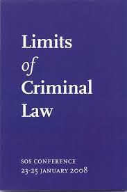 Discuss on Limits of Criminal Law