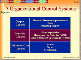 Discuss on Effective Organizational Control Systems