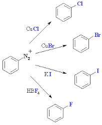 Discuss on Synthesis of Aryl Halides