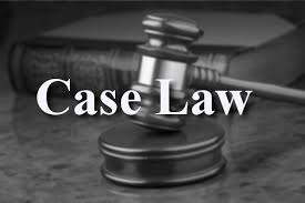 Discussed on Case law can help winning the case