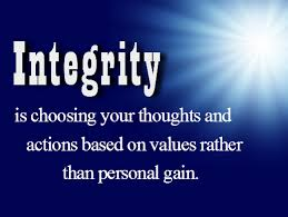 The Meaning and Definition of Integrity