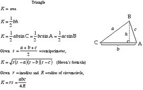 Discuss on Areas of Triangles