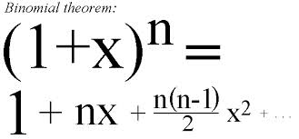 Define and Discuss on the Binomial