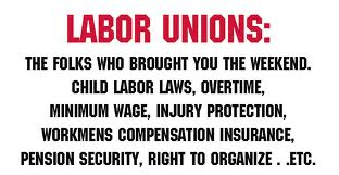 Define and Discuss on the Labor Unions