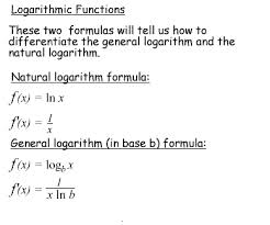 Define and Discuss on Logarithmic Functions