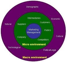 Define and Discuss on Marketing Environment