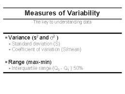 Discuss on Measures of Variability