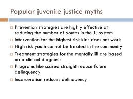 Discuss on Myths about Juvenile Justice