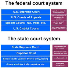 Define and Discuss on State Courts