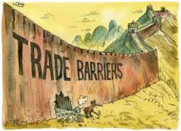 Define and Discuss on Trade Barriers