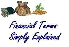 Analysis on Basic Financial Terms