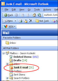 Microsoft Outlook Junk Email Filter