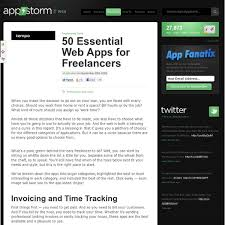 Web Apps for Freelancers