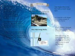 Lecture on Tidal Energy