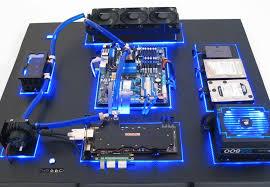 Liquid cooled Computer Maintenance