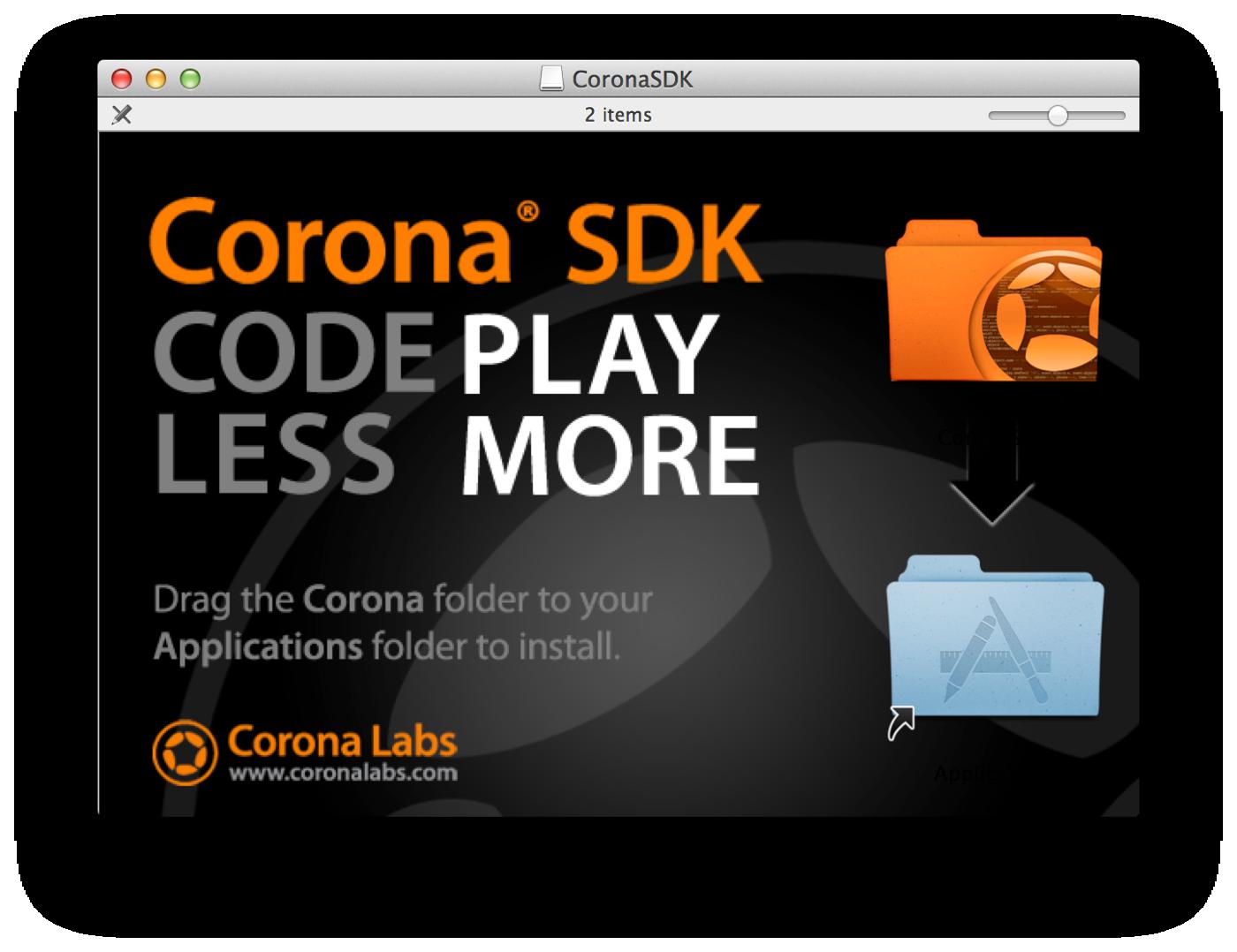Tutorial of Corona Platform Development