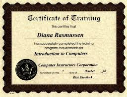 Computer Certification Courses