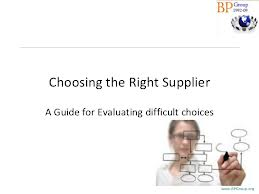 Choosing the Right IT Supplier