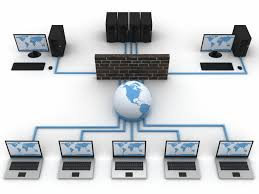 Network Infrastructure With a Firewall