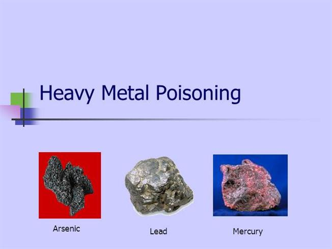 Signs of Heavy Metal Poisoning