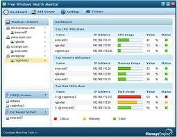 Windows Network Monitoring