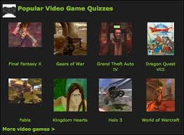 Kinds of Video Games