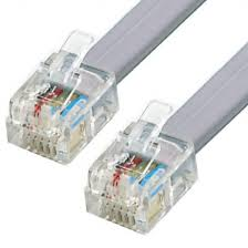 An RJ11 Cable