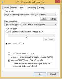 Correct VPN Protocol