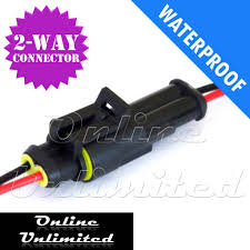 Waterproof Electrical Connector